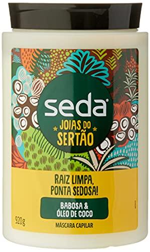 Creme de Tratamento Babosa & Óleo de Coco Seda Joias do Sertão Pote 920g, Seda