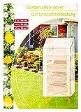 Nick and Ben Schutz-Hülle Grün für Gartenmöbel Gartenstuhl-Abdeckung Abdeck-Plane Wasserdicht Kunststoff 105 cm x 68 cm x 68 cm