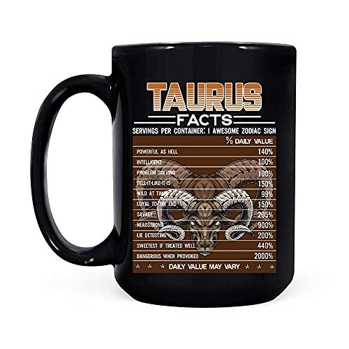 Tauro Facts Awesome For Taurus Zodiac Taza de...