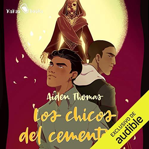 Diseño de la portada del título Los chicos del cementerio