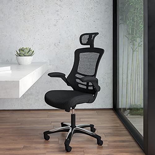 Flash Furniture High-Back Black Mesh Swivel Ergonomic