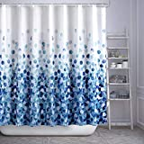ARICHOMY Shower Curtain Set Bathroom Fabric Fall Curtains Waterproof Colorful Funny with S...