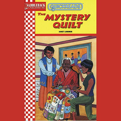 The Mystery Quilt audiobook cover art