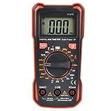 Multímetro digital LCD voltímetro amperímetro, multímetro eléctrico de alta precisión, apagado automático universal para laboratorios, capacitancia, fábricas, electricista