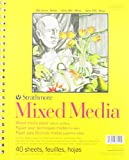Strathmore (362-9) 300 Series Mixed Media Pad, 9'x12', 40 Sheets