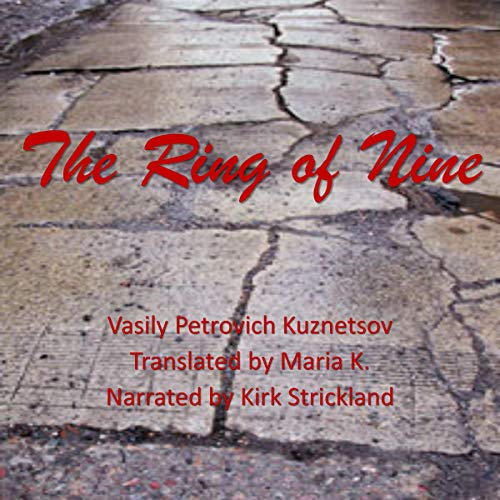 The Ring of Nine audiobook cover art