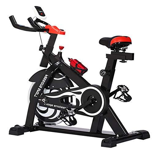 JLSYYCC Sport Bike, Indoor Bike, Smooth And Quiet Fixed-Rotating Bike, Sensore di Frequenza Cardiaca Completamente Regolabile