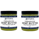 EFFECTIVE: Zatural Hemp Butter uses only the Purest, All Natural Ingredients making this Hemp Butter not only Pure but also Moisturizing, Soothing, and effective thanks to the Omegas and Vitamins present in the butter FOOD GRADE: Using only pure natu...