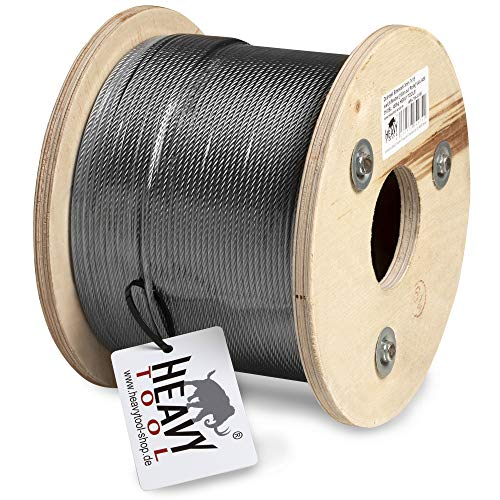 Cable Acero 100M 10Mm Marca HEAVYTOOL