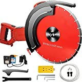 """VEVOR Electric Concrete Saw, 12"""" Concrete Cutter, 15-Amp Concrete Saw, Electric Circular Saw with 12"""" Blade and Tools, Masonry Saw for Granite, Brick, Porcelain, Reinforced Concrete and Other Material"""