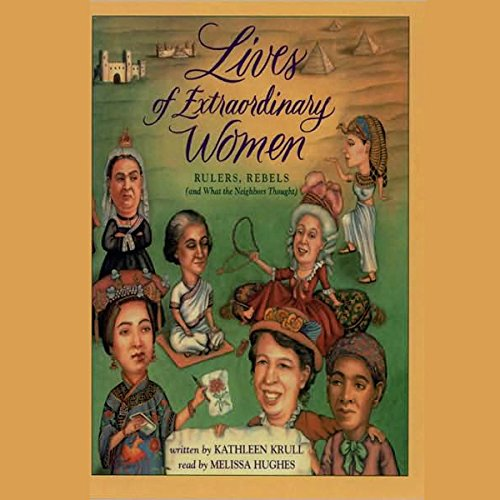 Lives of Extraordinary Women audiobook cover art