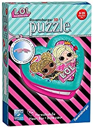Based on the super popular LOL Dolls comes this excellent LOL Surprise 3D heart-shaped puzzle - with secret storage for small treasures! Bestselling 3D puzzle brand worldwide - Our 3D jigsaw puzzles make ideal gifts for boys and great gifts for girls...