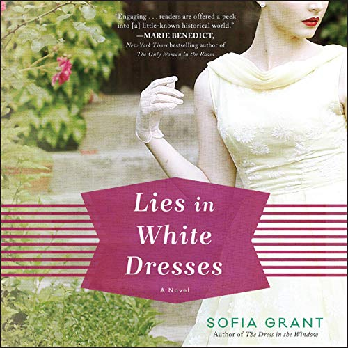 Lies in White Dresses audiobook cover art