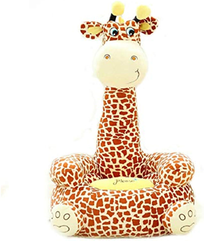 NOWPST Kuscheliges Plüsch-Giraffensofa Kuscheltiere Kissen Plüsch Stofftier Geschenke Für Kinder Hhe 50Cm