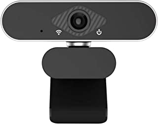 Webcam with Microphone 1080P Full HD Desktop with Laptop Web Camera Live Streaming with Microphone Widescreen HD Video Degree Extended View for Video Calling USB Plug and Play Instant Video