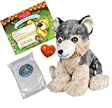 """Create your own BFF (Beary Fun Friend)! Easy Assembly, No Sewing Required, Self Sealing Closure and a Super Soft Feel 8"""" Plush Animal Skin, bag of Non-allergenic fill, Wishing heart insert, Birth certificate and Backpack included Our Premium Fiberfil..."""