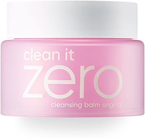 BANILA CO Clean It Zero Original Cleansing Balm Makeup Remover, Balm to Oil, Double Cleanse, Face Wash, 2 sizes