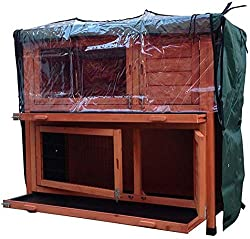 Dark green Rabbit Hutch Covers