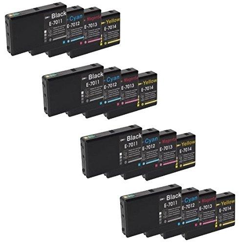 Prestige Cartridge 16 XXL Compatibile Cartucce d'inchiostro per Epson WorkForce Pro WP-4015 WP-4025 WP-4025DW WP-4095 WP-4500 WP-4515 WP-4525 WP-4525DNF WP-4535 WP-4535DWF WP-4545 WP-4545DTWF WP-4595
