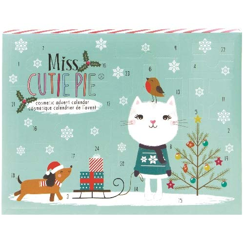Super Cosmelux Miss CUTIE PIE Girls Kosmetik Adventskalender Beauty Surpris 24 teilig WoW