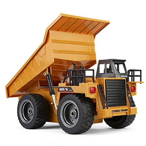 RC Auto kaufen LKW Bild 6: likeitwell 2.4G 6-Kanal-Vollfunktions-LKW 1:18 ferngesteuertes Kipper-Baufahrzeug-Spielzeug für Kinder*