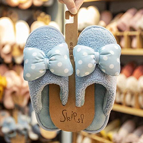 WTFYSYN Zapatillas de Estar por Casa Lindo,Zapatillas de algodón...