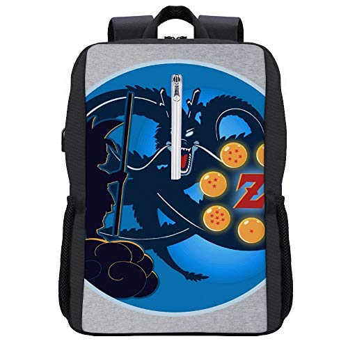 Super Z Saga Dragonball Z Backpack Daypack Rucksack Laptop Shoulder Bag with USB Charging Port Connecticut