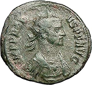 1000 IT PROBUS on horse 280D Authentic Ancient Roman Coin coin Good