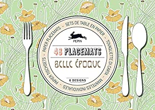 Belle Epoque Paper Placemats (English, Spanish and French Edition)