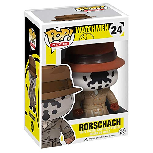 Funko POP Movies : Watchmen - Rorschach Figure Gift Vinyl 3.75inch for Hero Movie Fans SuperCollection