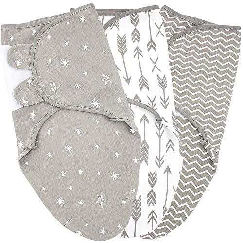 Baby Swaddle Blanket Wrap for Boy and Girl, 0-3-Month, Newborn Babies Swaddling Sack, Infant Adjustable Sleep Swaddles, Galaxy