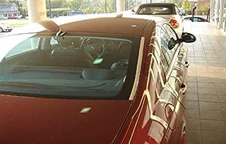 TRUE LINE Automotive 2 Piece Chrome Pillar Window Post Trim Molding Kit (1 3/8 inch)
