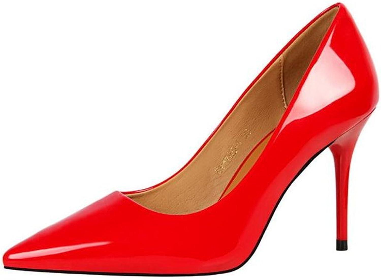 Gusha Evening Dress Pointed Toe high Heels Women Sexy Shallow high Heels