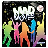 Mad Moves -- Dance Game -- Dance Like You've Never Danced Before -- Family Fun! -- Ages 8+ -- 3 or More Players