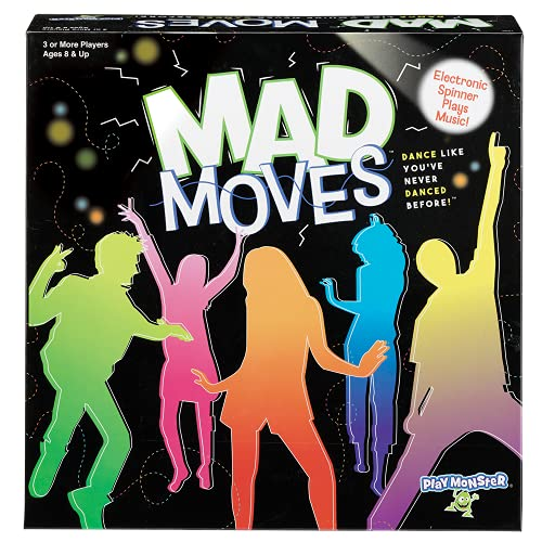 Mad Moves -- Dance Game -- Dance Like You've Never Danced Before -- Family Fun! -- Ages 8+ -- 3 or...