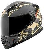 Speed and Strength スピードアンドストレングス SS1600 Critical Mass Helmet 2017モデル ヘルメット サンド/グレイ M(57~58cm)