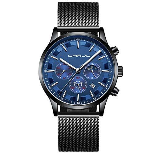 Relojde Cuarzo de Malla para Hombre de Marca Superior Relojd