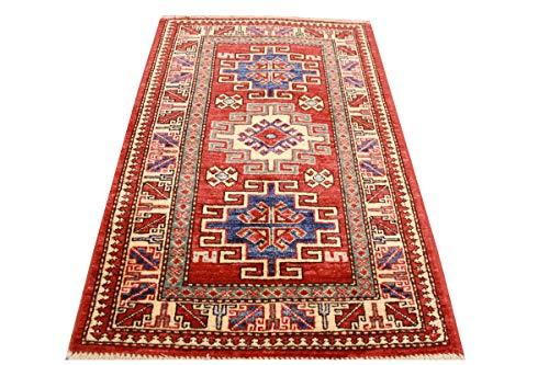 ETFA LAGERVERKAUF Teppiche - Orient Teppich Kazak - 91x53 cm - Rot
