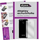 dipos I 6X Schutzfolie klar kompatibel mit Oukitel U22 Rückseite Folie Bildschirmschutzfolie