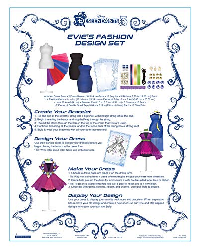 Make It Real Disney Descendants 2 Fashion Design Tracing Light Table Kids Fashion Design Kit Includes Light Table Disney Sketchbook Stencils Stickers Design Guide And More Buy Online In Oman
