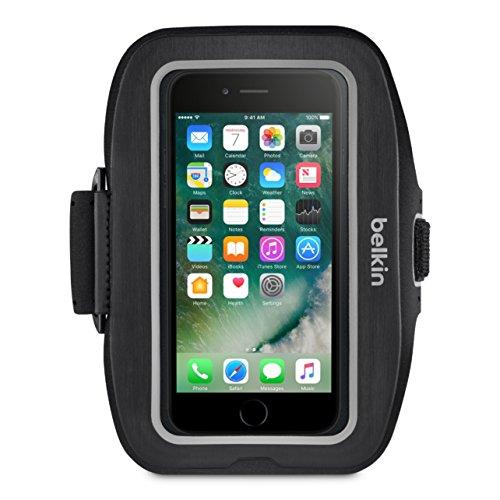 Belkin SportFit Plus - Brazalete Deportivo para iPhone 7 Plus, Color Negro