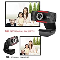 honorcare HD 720PメガピクセルUSB 2.0 Webカメラカメラ(MIC、コンピューターPCラップトップ用)