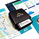 GPS Tracker for Vehicles Vyncs 4G No Monthly Fee Real Time Tracker 1 Yr Data Plan USA+Global SIM Car Truck Tracker OBD Trips Driver Alert Engine Data. Teens Seniors Family Fleet. Alexa. Actvn Fee Reqd