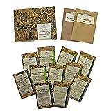 Erbe del giardino del monastero - set regalo di semi con 11 varietà di erbe tradizionali medicinali e culinarie
