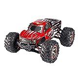 DFERGX 1:10 Bigfoot Monster Impermeable Coche De Alta Velocidad RC Car 2.4g 46Km / H Fast Racing 4WD Todo Terreno Buggy Drift Car 45 ° Coche De Escalada Coche De Juguete Regalos para Adultos Y Niños