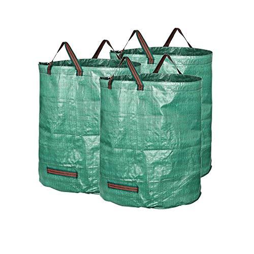 Homeself 2-pack 70 gallons réutilisables Heavy Duty jardinage Sacs – Feuille de jardin réutilisable Sacs de réception 72 Gallons