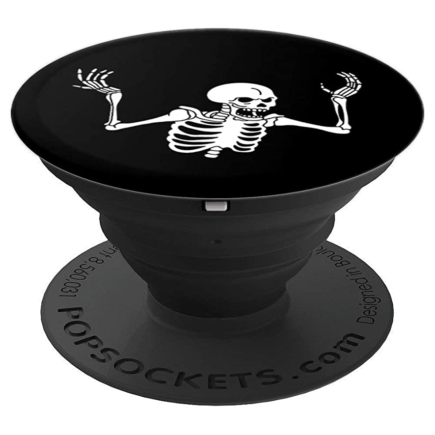 Spooking Intensifies skeleton spooky meme - PopSockets Grip and Stand for Phones and Tablets