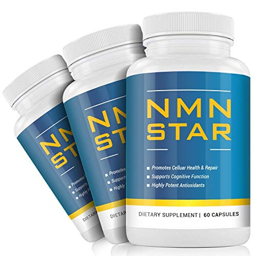 NMN Nicotinamide Mononucleotide Supplement, 300mg Capsule, Energy & Anti Aging, 60 Count(3pack)