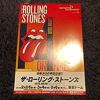 コンサートチラシ The Rolling Stones ザ・ローリング・ストーンズ コレクション