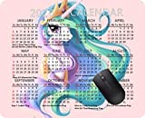 2020 Calendar Mouse pad Gaming Mouse pad Office Mousepad Nonslip Rubber Backing-My Little Pony